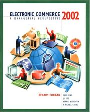 Cover of: Electronic Commerce 2001 Update | Efraim Turban