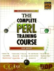 Cover of: Complete PERL Training Course, The | Ellie Quigley
