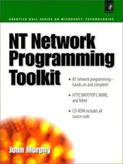 Cover of: NT Network Programming Toolkit | John Murphy