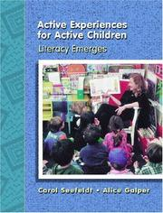 Cover of: Active Experiences for Active Children | Carol Seefeldt