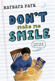 Cover of: Don't Make Me Smile