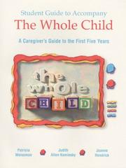 Cover of: The whole child