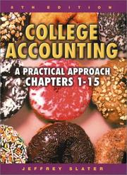 Cover of: College Accounting 1-15 with Study Guide, Working Papers and Envelope Package