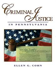 Cover of: Criminal Justice in Pennsylvania
