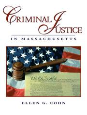 Cover of: Criminal Justice in Massachusetts