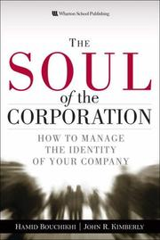 Cover of: The soul of the corporation |