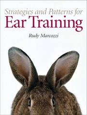 Cover of: Strategies and Patterns for Ear Training |