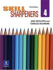 Cover of: Skill Sharpeners, Book 4 (3rd Edition) | Judy DeFilippo
