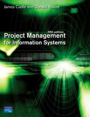 Cover of: Project management for information systems |