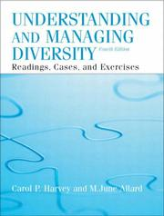 Cover of: Understanding and Managing Diversity (4th Edition) by Carol Harvey, M. June Allard
