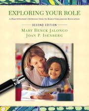 Cover of: Exploring Your Role and Early Education Settings and Approaches DVD