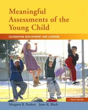 Cover of: Meaningful assessments of the young child