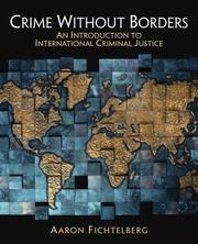 Cover of: Crime Without Borders | Aaron Fichtelberg