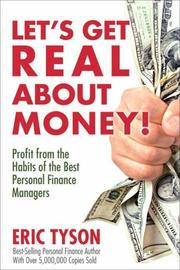 Cover of: Let's get real about money!
