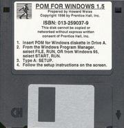 Cover of: POM for Windows | Howard Weiss