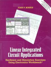 Cover of: Linear Integrated Circuit Applications
