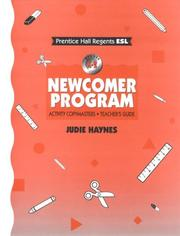 Cover of: Newcomer Program
