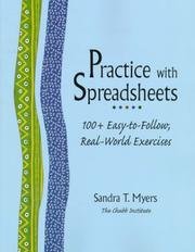 Cover of: Practice with Spreadsheets | Sandra T. Myers