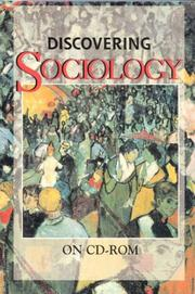 Cover of: Discovering Sociology on Cd-Rom: For Windows and Mac