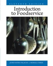 Cover of: Introduction to Foodservice (11th Edition) | June PaynePalacio
