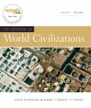 Cover of: Heritage of World Civilizations, The, Volume 1