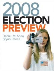 Cover of: 2008 Election Preview