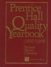 Cover of: Prentice Hall Quality Yearbook 1997/1998