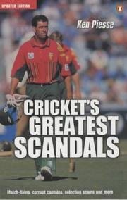 Cover of: Crickets Greatest Scandals