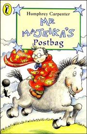 Cover of: Mr Majeika's Postbag
