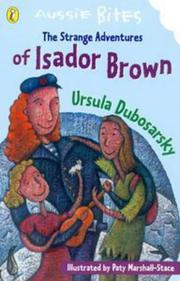 Cover of: The Isador Brown (Aussie Bites)