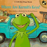 Cover of: Where Are Kermit's Keys?