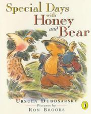 Cover of: Special Days with Honey and Bear