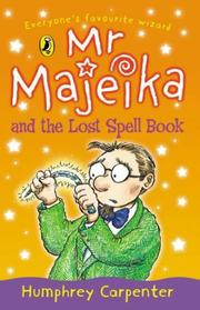 Cover of: Mr Majeika And The Lost Spell Book