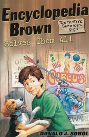Cover of: Encyclopedia Brown Solves Them All (Encyclopedia Brown)