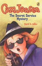 Cover of: Cam Jansen and the Secret Service Mystery #26 (Cam Jansen)
