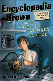Cover of: Encyclopedia Brown and the Case of the Midnight Visitor (Encyclopedia Brown)