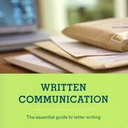 Cover of: Written Communication