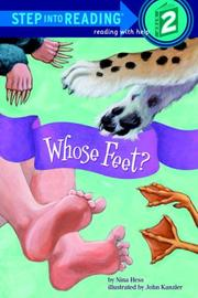 Cover of: Whose Feet? (Step into Reading) | Nina Hess