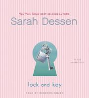 Cover of: Lock and Key: a novel