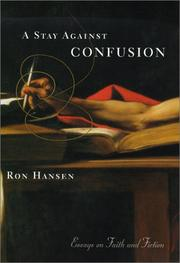 Cover of: A Stay Against Confusion