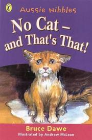 Cover of: No Cat, and That's That! (Aussie Nibbles)