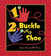 Cover of: 1, 2, Buckle My Shoe