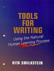 Cover of: Tools for Writing