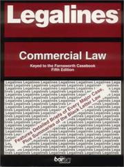 Cover of: Legalines: Commercial Law | Jonathan Neville