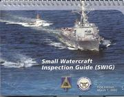 Cover of: Small watercraft inspection guide (SWIG) |