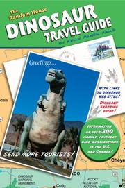 Cover of: The Random House Dinosaur travel guide