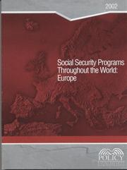 Cover of: Social Security Programs Throughout the World | United States Government Printing Office