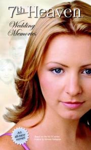 Cover of: Wedding Memories (7th Heaven(TM))