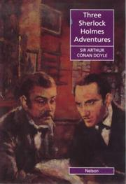 Cover of: Three Sherlock Holmes Adventures
