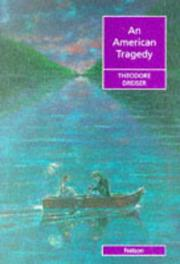 Cover of: An American tragedy